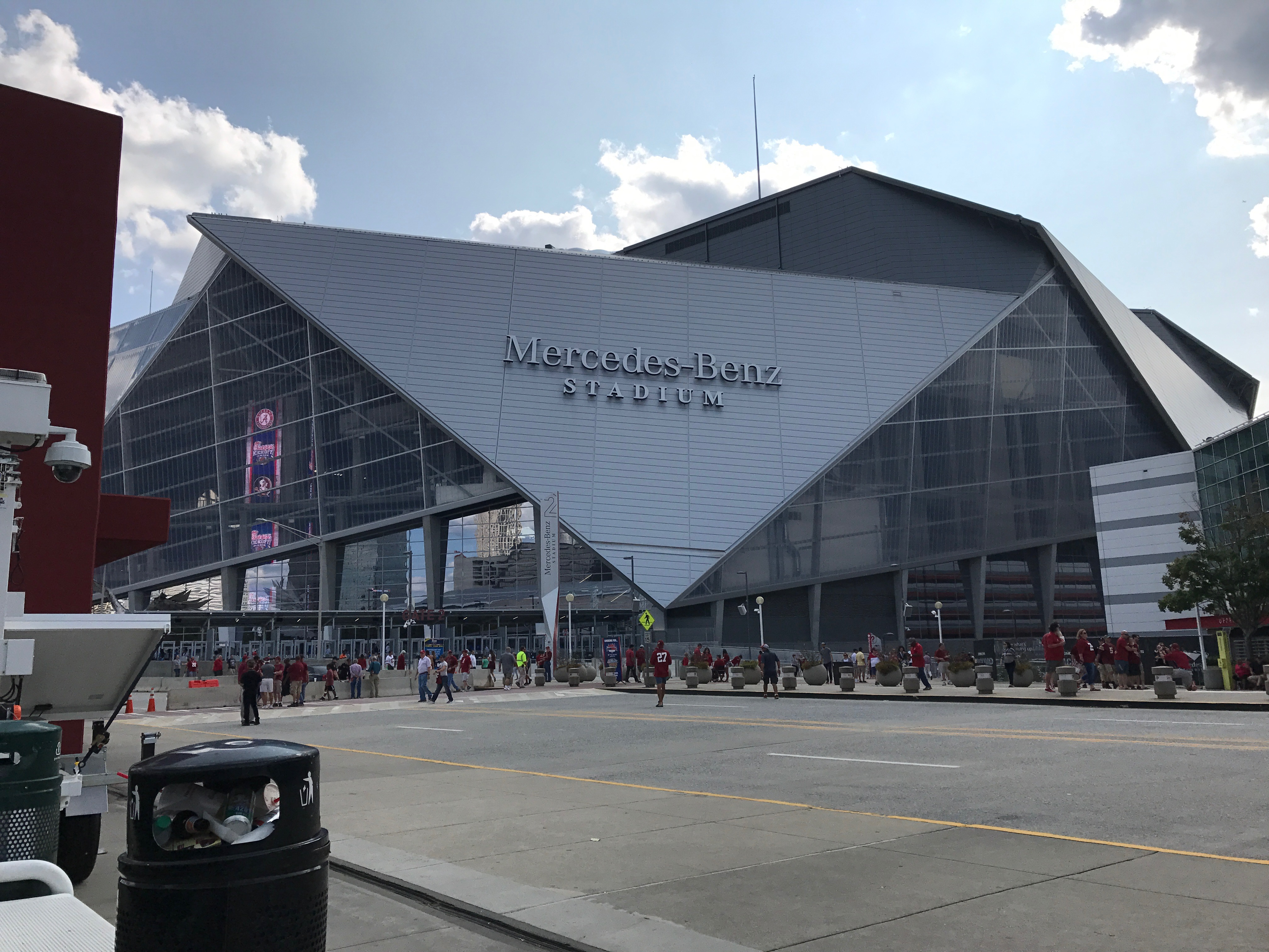 Mercedez Benz Stadium, home of the college football national championship.